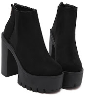 Romwe Ankle Boots