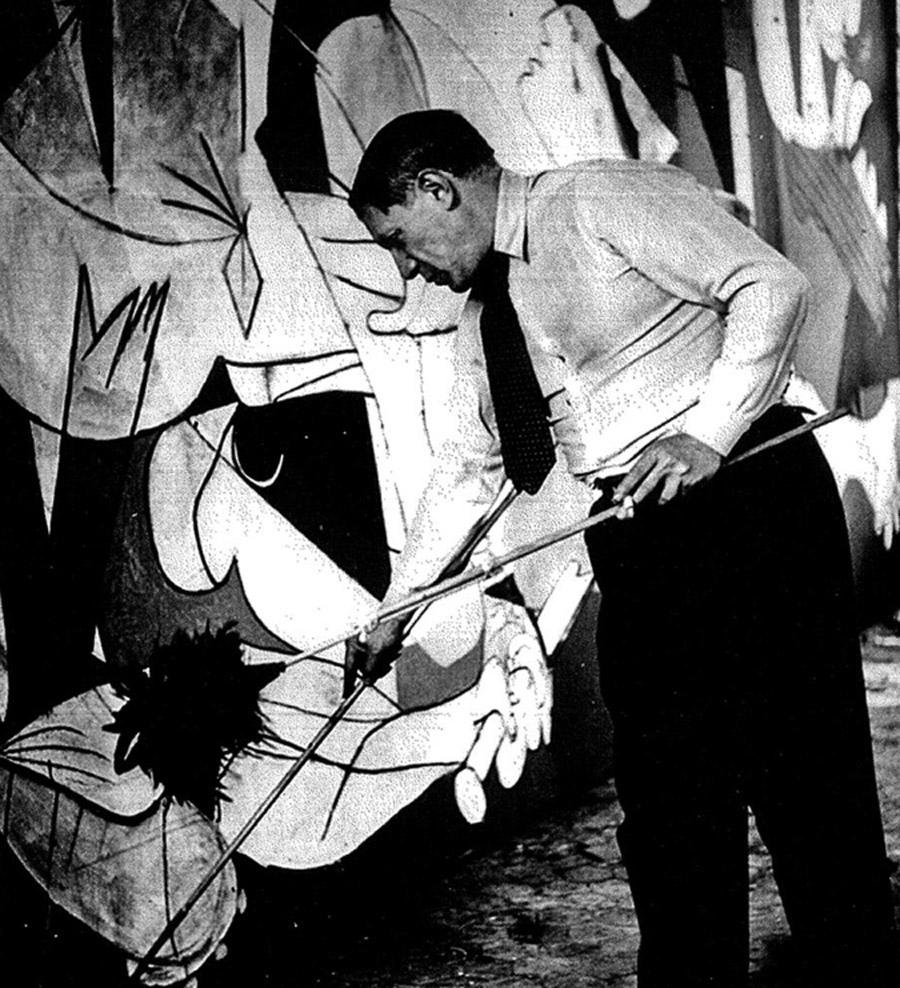 pablo picasso il guernica 1937 tutt 39 art pittura scultura poesia musica. Black Bedroom Furniture Sets. Home Design Ideas
