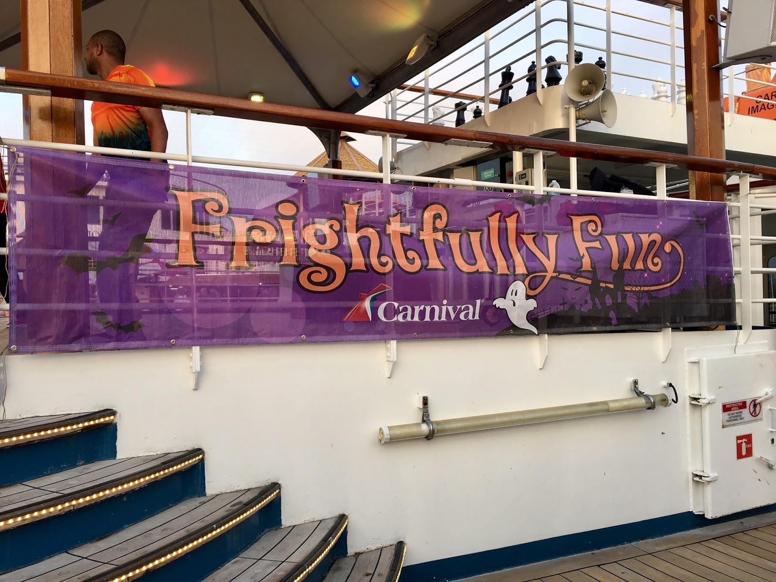 Carnival Cruise Halloween