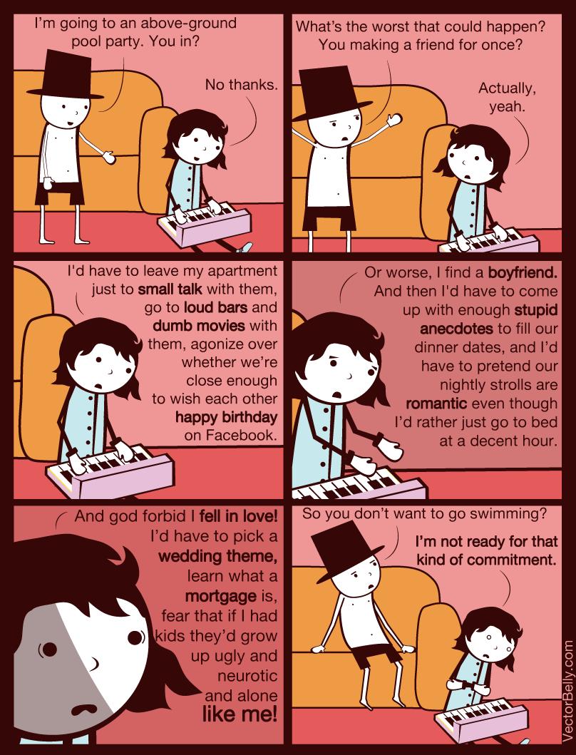 Cartoon Introvert Girl Wallpaper Adventures Of A Slow Ninja Dear Book Lovers Amp Introverts