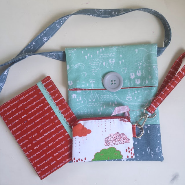 Simple Sling Bag Tutorial featured by top US sewing blog, Ameroonie Designs
