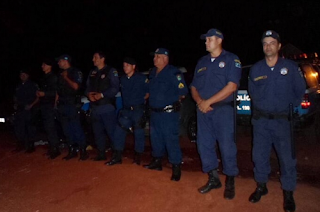 Guarda Municipal de Ponta Porã (MS) realiza o policiamento durante a 3ª Expoita