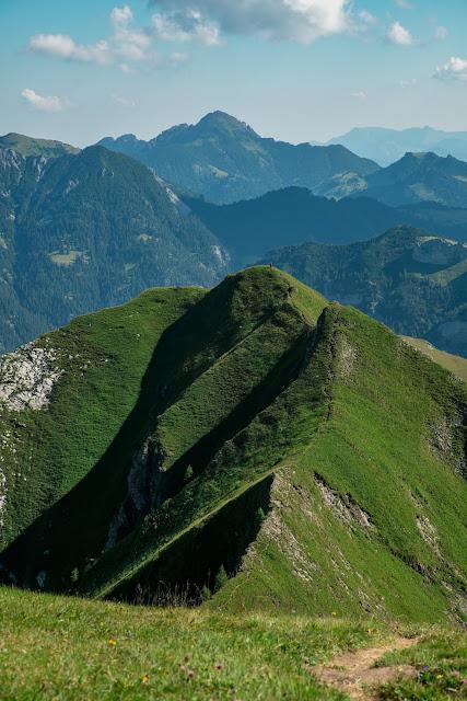 Bergtour Rappenstein von Steg  Wandern Fürstentum Liechtenstein 07