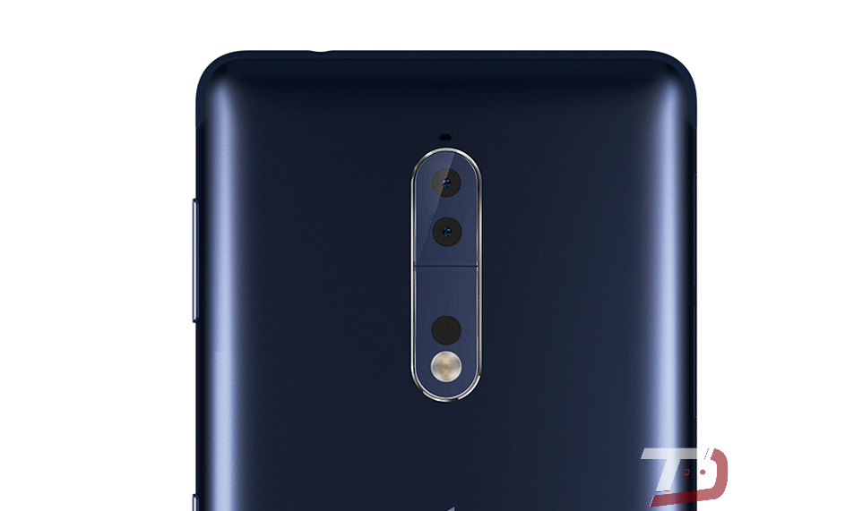 Here is the silver version of the upcoming Nokia 8 flagship