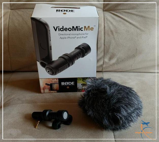 Microfone para celular marca Rode, modelo VideoMic Me Compact, aliexpress