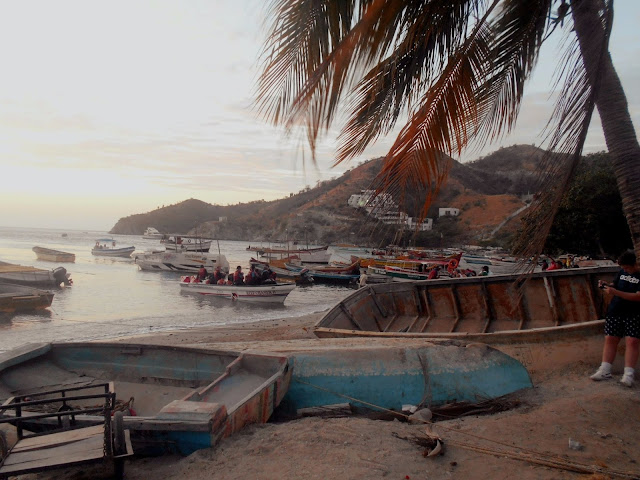 New Year's Eve in Taganga, Colombia