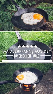 Gear of the Week #GOTW KW 13 | Waidlerpfanne aus dem Bayerischen Wald | Schmiedeeiserne Pfanne
