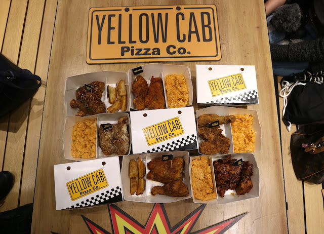 Yellow Cab's 6 Drum and Thigh Explosive Flavors