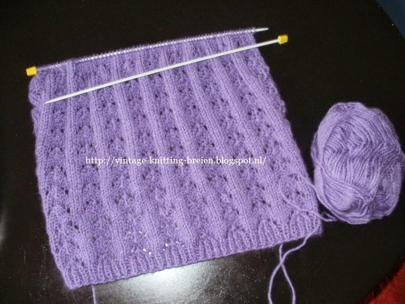Bekend Vintage knitting free patterns, gratis breipatronen onder andere  BO83