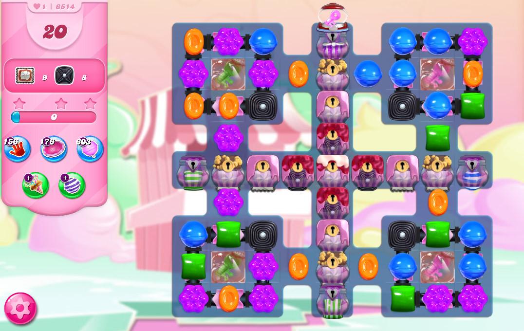Candy Crush Saga level 6514