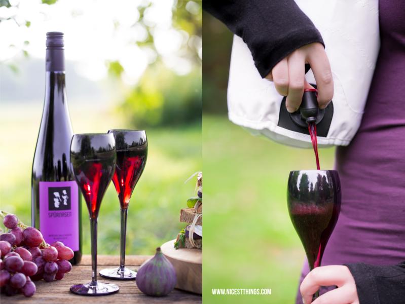 Outdoor Weingläser bruchsicher Weintasche Weinbeutel Spürnasen