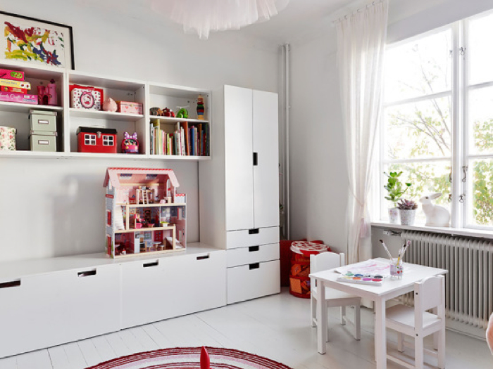 7 Inspiring Kid Room Color Options For Your Little Ones: Rafa-kids : Storage For Kids From Ikea