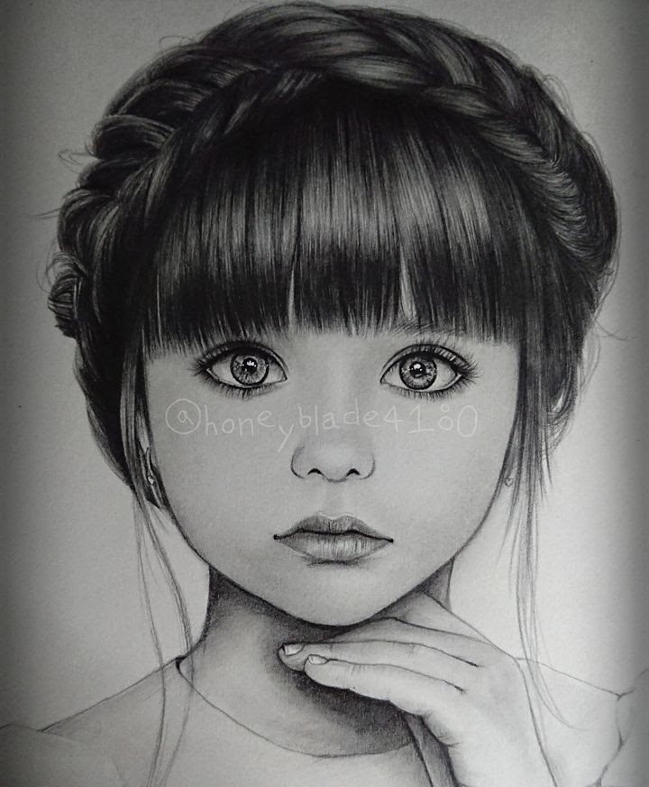 01-Child-YU Pencil-Portrait-Drawings-of-Celebrities-and-Non-www-designstack-co