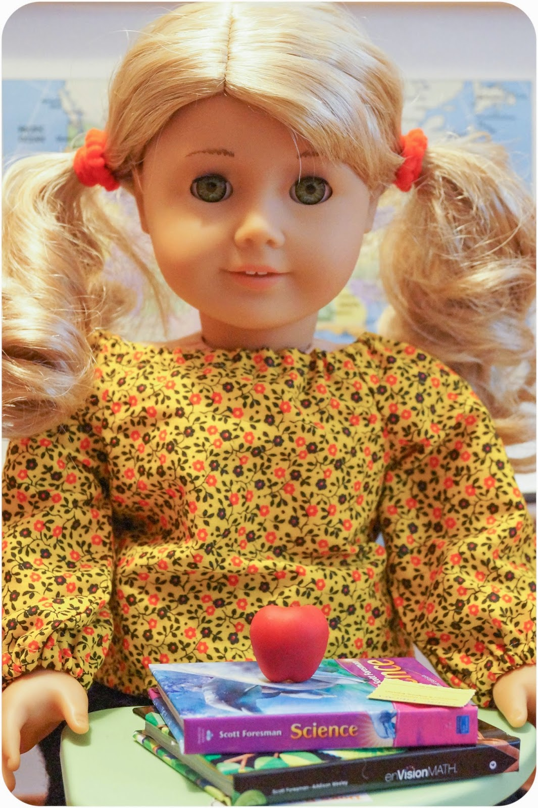 American Girl Doll Play School Pictures Lanie Holland