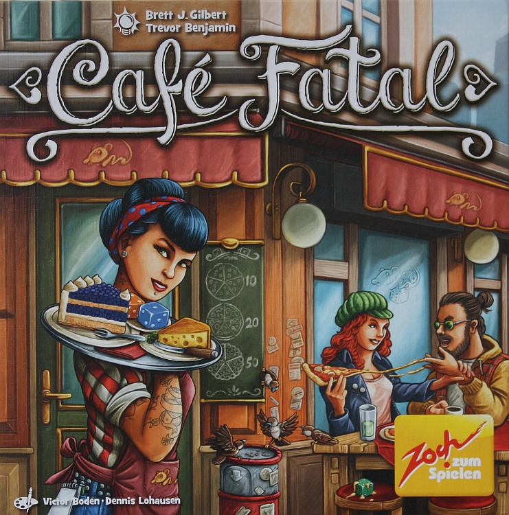 Udo Bartsch: Rezensionen für Millionen: Café Fatal