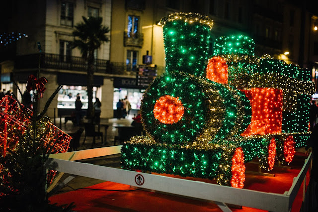 illuminations décorations noël narbonne 2015 féeries