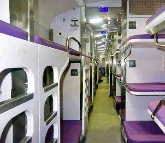 Indian Railway - Superior Looking Compartments