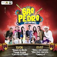 São Pedro em Cascavel - Ibicoara de 2017