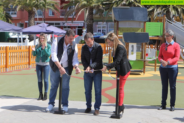 El Paso inauguró este viernes  el primer parque infantil adaptado- inclusivo de La Palma