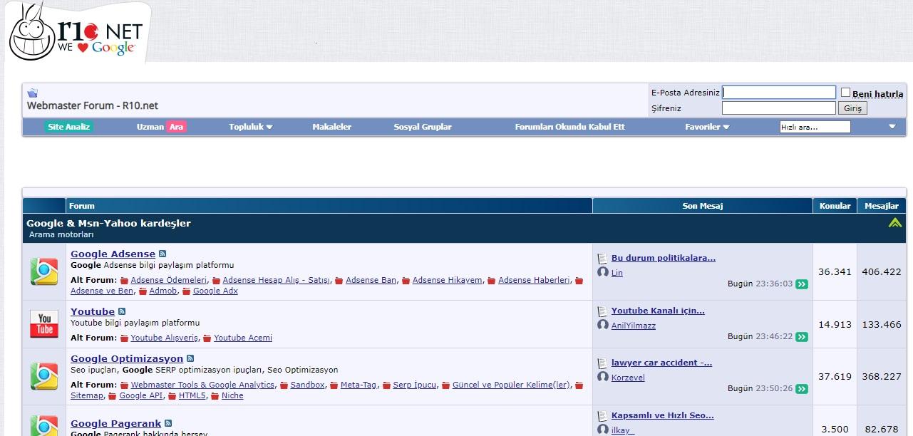r10, forum siteleri, en iyi forum siteleri, en iyi türk forum siteleri, türkiyenin en iyi forum siteleri, en çok ziyaret edilen forum siteleri