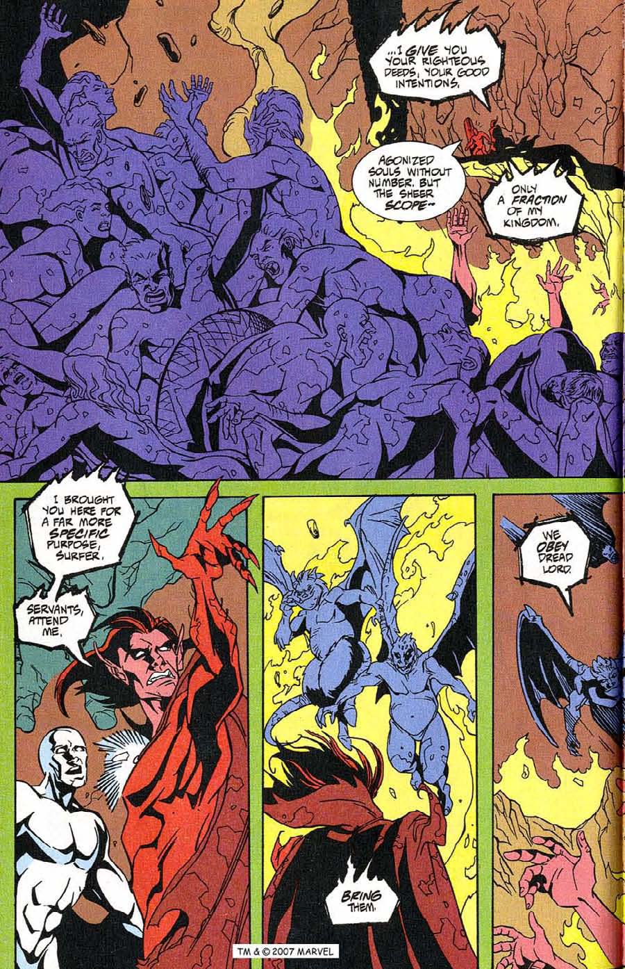 Read online Silver Surfer (1987) comic -  Issue #100 - 24