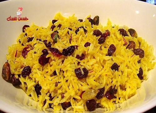 كيفية تحضير الأرز بالزبيب والمكسرات للرجيم