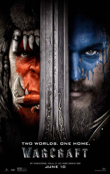 Poster Of Warcraft 2016 720p Hindi HDTC Dual Audio Full Movie Download