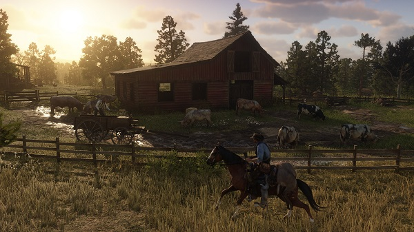 Horses are capable in Red Dead Redemption 2
