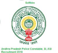 Andhra Pradesh Police Constable, SI, ASI Recruitment