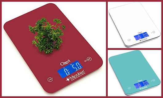 Ozeri Touch II Digital Kitchen Scale Offer