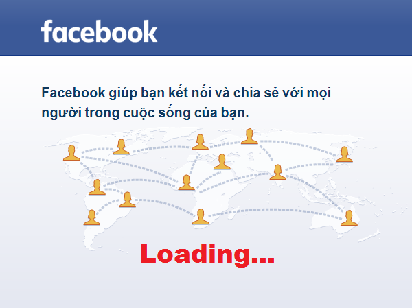 Vào Facebook bị chậm
