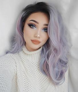 lavander hair