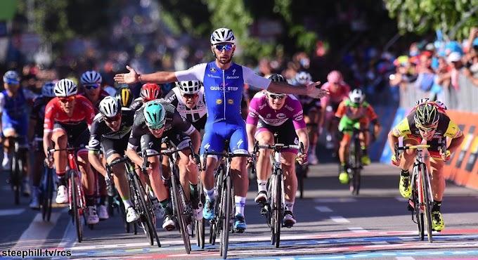 Giro de Italia 2017 - 5ª etapa