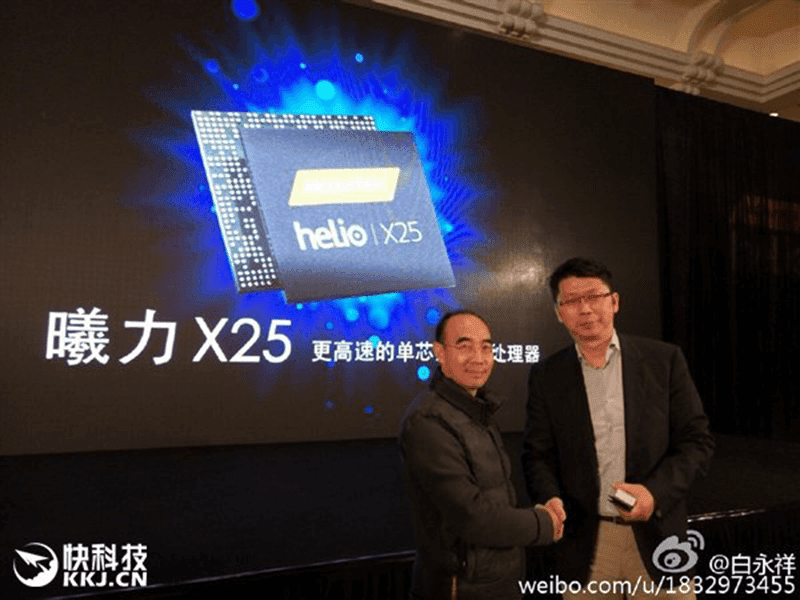 Meizu Pro 6 will have Helio X25 deca core chip by MediaTek