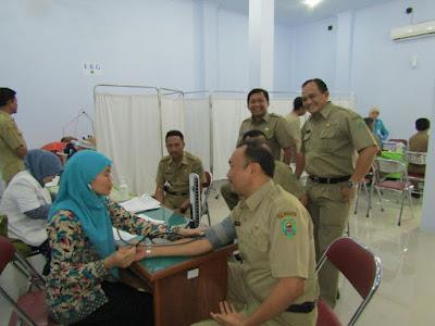 52 Pejabat Eselon III A Ikuti Test Kesehatan
