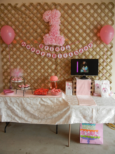 Turbos N Tiaras Couture And Crafts Its A Pretty Pink Party