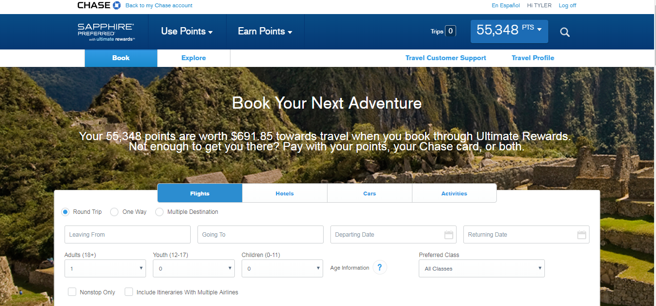 Can You Use Chase Rewards Points On Rental Cars