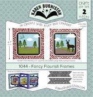 http://karenburniston.com/fancy-flourish-frames/