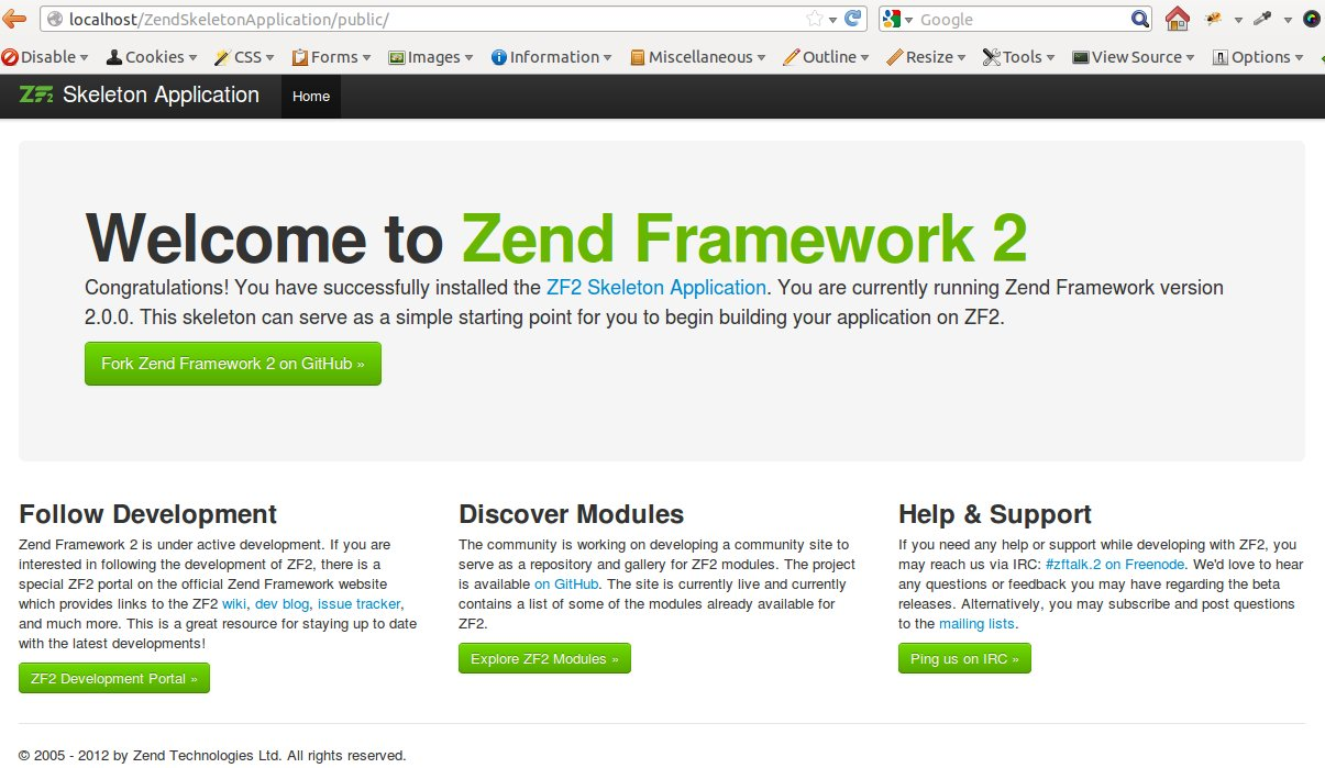 Simpla Note: Zend Framework 2 : Instalation and Make a Module