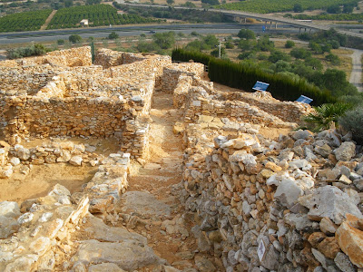 Poblat iberic del Puig de la Nao Puig de la Nau Benicarlo Costa del Azahar Arqueologia