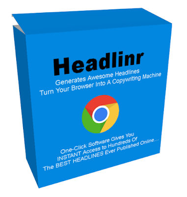 [GIVEAWAY] Headlinr Pro [Turn Your Browser Into A Copywriting Machine]