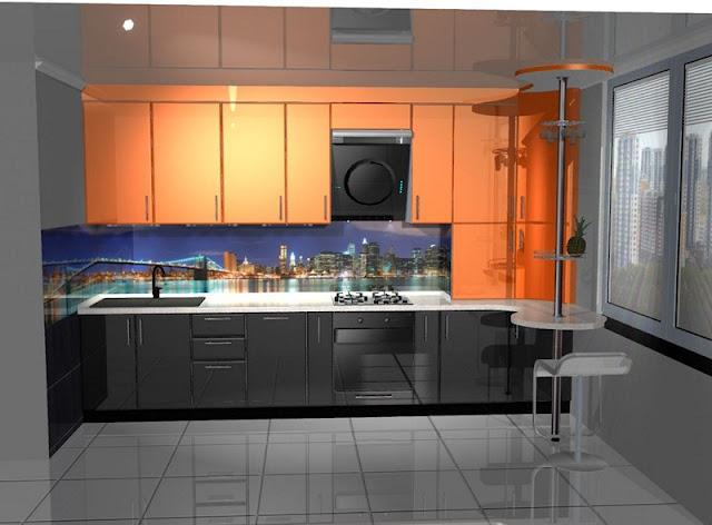 Кухни на заказ угловые для маленькой кухни