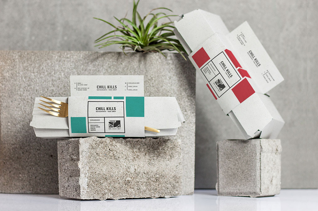 Inspirasi Desain Kemasan Packaging - ChillKills Take away