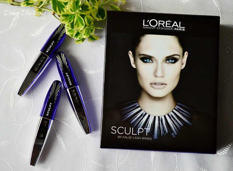 L'Oreal Paris - tusz False Lash Wings Sculpt z efektem tightline