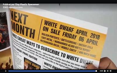 White Dwarf marzo 2018