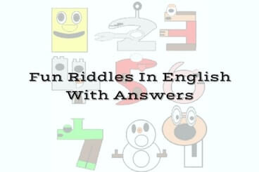 Fun Riddles In English With Answers-Fun With Puzzles
