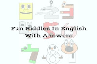 Easy Fun Riddles for Kids in English with Answers