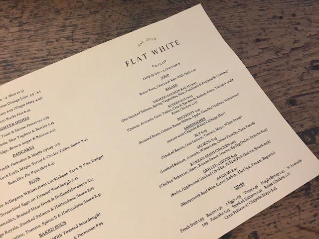 Flat White Kitchen Saddler Street Durham