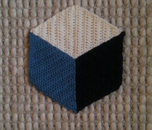 3d Crochet Blanket Patternpattern Free