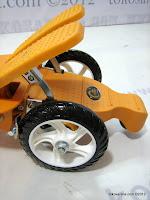2 Skuter Super Extra Dual Pedal Suspensi